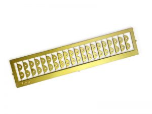 Photo-etched 2 Tier Parral Ribs 8mm