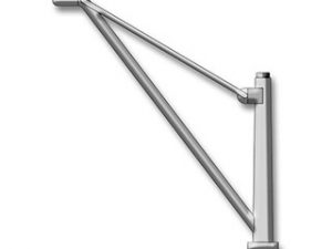 Metal Davits with Base 55mm