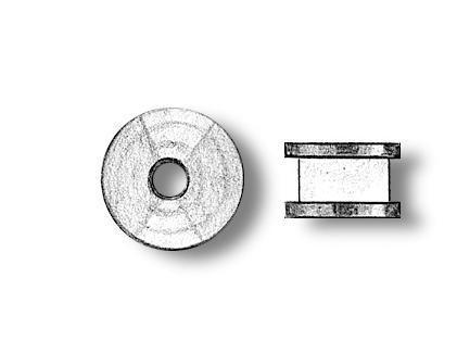 Brass Sheaves 2.5mm