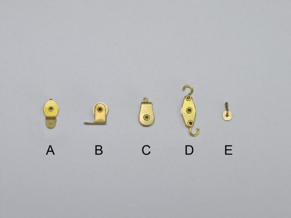 Brass Working Blocks Type E 7mm