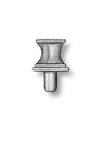 Brass Capstans 12mm