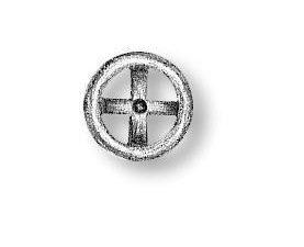 Resin Wheel 4 spokes 5.5mm
