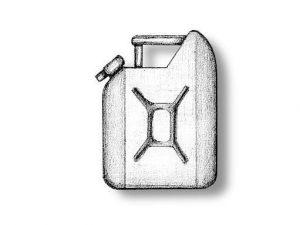 Plastic Gasoline Cans
