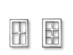 Metal Windows 6.5x8.8mm