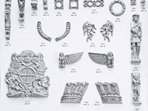 Decorative Column Brass 20mm