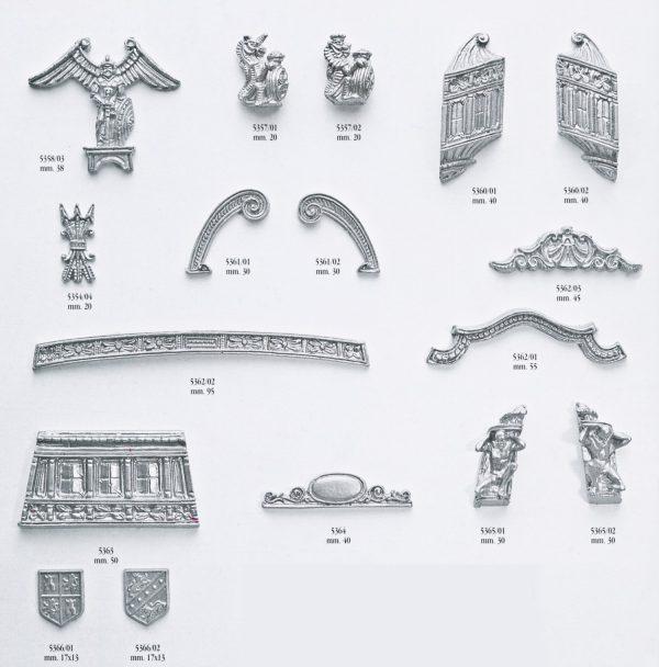 Anchor Decoration Brass 10mm