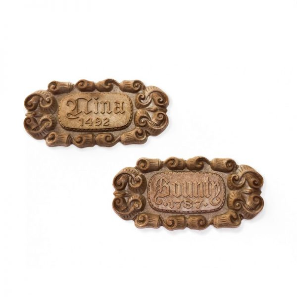 Mayflower Name Plate Metal 45x7mm