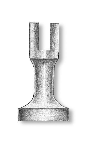 Brass Pedestals 29mm