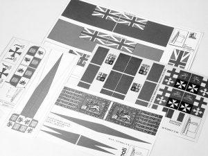 Pirate Flag 55x43.5mm