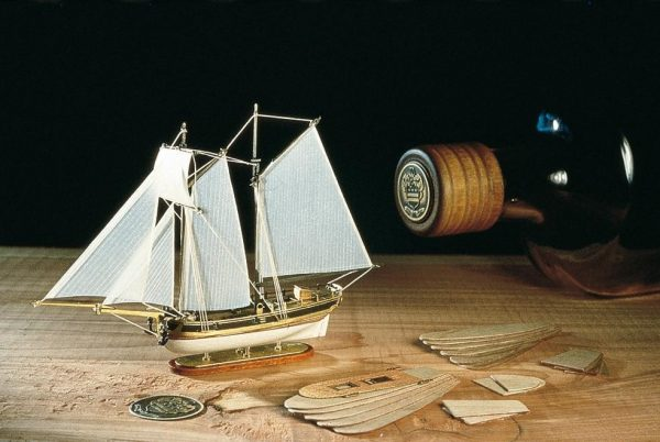Hannah Ship in a Bottle Kit