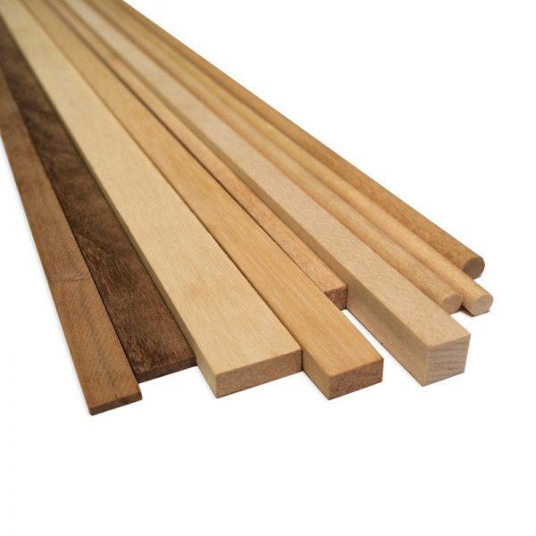 Limewood Strips 12x12mm