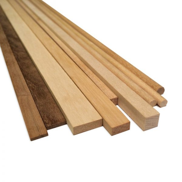 Walnut Strips 10x10mm