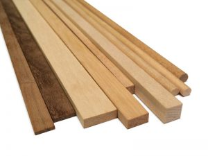 Walnut Strips 1x6mm