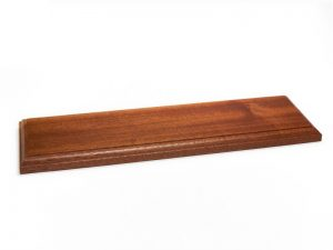Wooden Varnished Baseboards 20x10x2cm