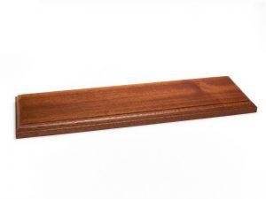 Wooden Varnished Baseboards 20x10x2cm