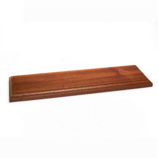 Wooden Varnished Baseboards 40x12x2cm
