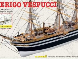 Amerigo Verpucci Wood Ship Kit