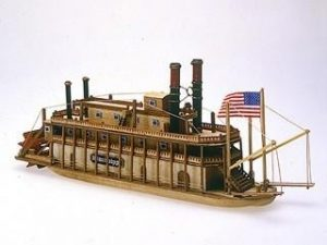 Mini Mamoli Mississippi Wood Ship Kit