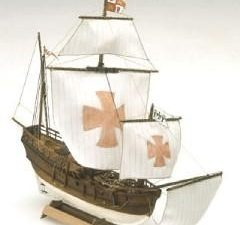 Mini Mamoli Pinta Wood Ship Kit
