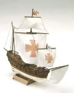 Mini Mamoli Pinta Wood Ship Kit