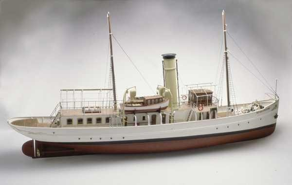 (RC) Schaarhorn, Steam Yacht