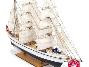 Gorch Fock, pre-painted plastic hull ship model kit