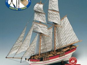 Flyer, Schooner model kit
