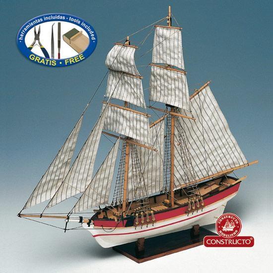 Flyer, Schooner model kit