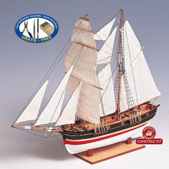 St Helena, Brigantine model kit