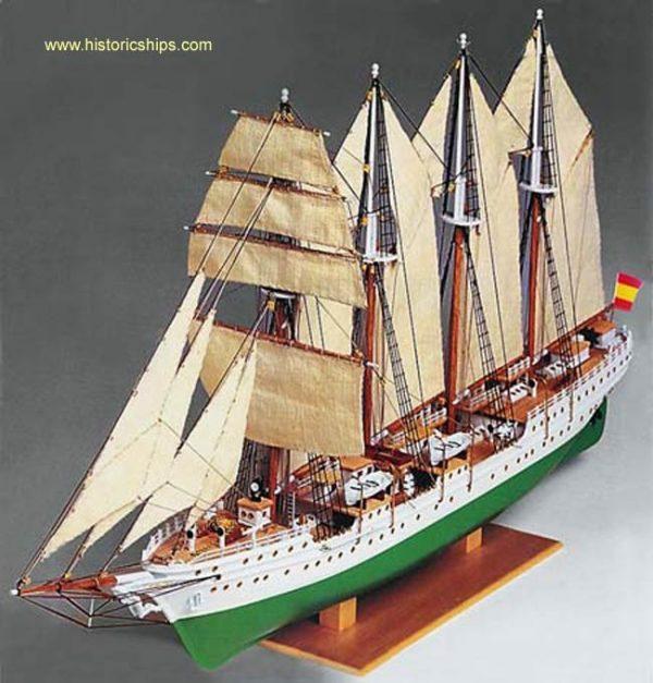 JS Elcano - (Plastic Hull)