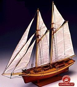 Carmen 1850, Spanish schooner model kit