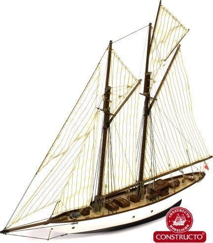 Altair 1840, schooner yacht model kit