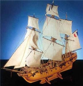 Tonnant Wood Ship Kit Model