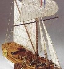 Leida wooden ship model kit