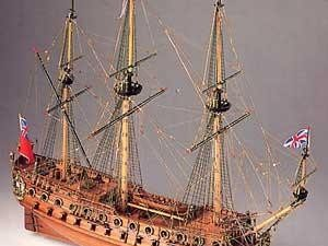 Neptune wood ship kit Model