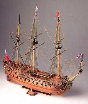 Neptune wood ship kit Model