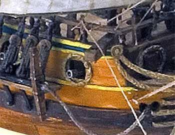 HMS Peregrine wooden ship model kit