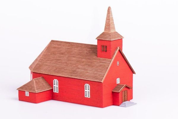 Algaras, Medieval Church wooden model kit