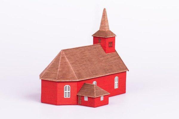 Algaras, Medieval Church wooden model kit