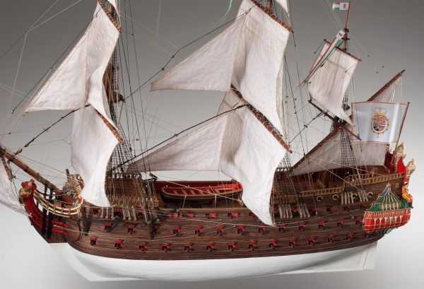 Nuestra Senora, wooden ship model kit