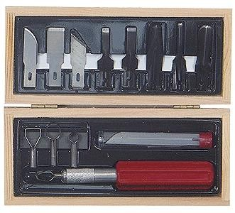 Woodworking Set - Wooden Box
