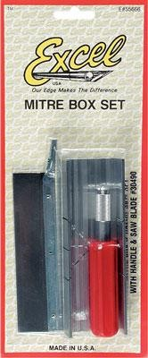 Mitre Box w/K5 Handle & Saw Blade