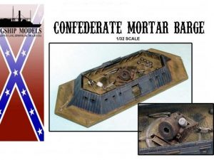 Confederate Mortar Barge