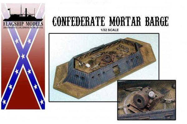 Confederate Mortar Barge