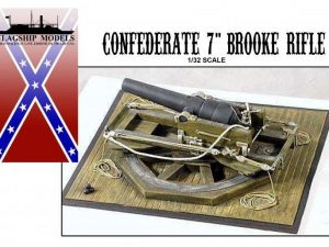 7 Confederate Brooke Rifle