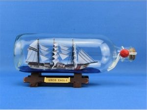 Eagle Ship in Bottle