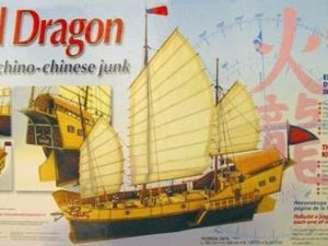 Red Dragon Chinese Junk