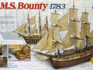 H.M.S. Bounty Wood Ship Kit