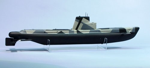 USS BlueFish Submarine Kit