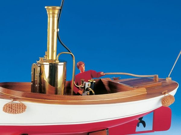 Krick Anna Open Steam Launch w/o Steam Engine